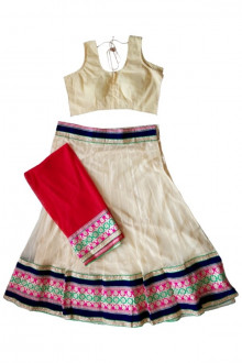 Offwhite Navratri Chaniya Choli Buy Online for India, US, UK, Canada