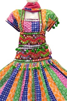Exclusive Traditional Multi Colour Cotton Chaniya Choli for Navratri buy online