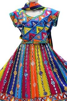 Latest All Over Multi Colour Chaniya Choli for Navratri Buy online