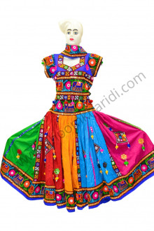 Buy Navratri Cotton Chaniya Choli Jewellery Dandiya