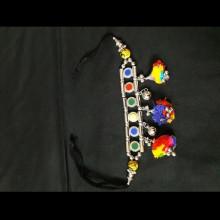 Oxodized Multicolor Bajubandh (Big Size)