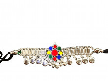 Buy Oxodized Multicolor Bajubandh (Big Size) Online For Navratri