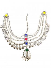 Buy Multicolor Oxodized Damni (Big Size) Online For Navratri