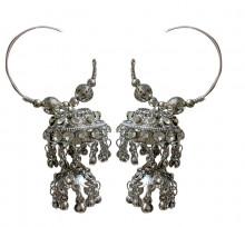 Oxodized Big Traditional Earings (Fashion)