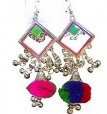 Oxodized Joomkha with Multicolor Fluffy Style (Fashion)