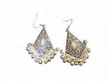 Buy Oxodized Earings with Ghooghri Online For Navratri