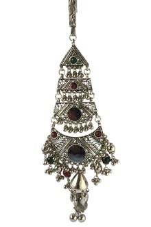Oxidized Multicolor Juda with Ghughari & Mirror