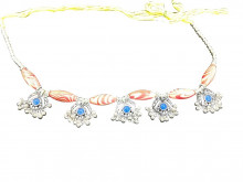 Elegant Colorful Kandoro for Small Girls (Pink & Blue) (Fashion)