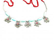 Buy Elegant Colorful Kandoro for Small Girls (Blue & Pink) Online For Navratri