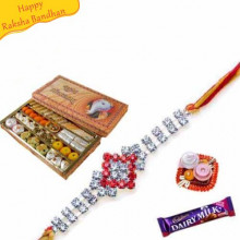 Buy Sp Kaju Mix With rakhi Online on Rakshabandhan with India, worldwide delivery options