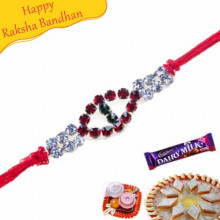 Colouring American Diamod Rakhi