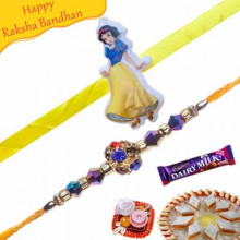 Crystal Rakhi with Kids Rakhi