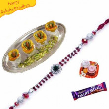 Dryfruit Sweet with rakhi