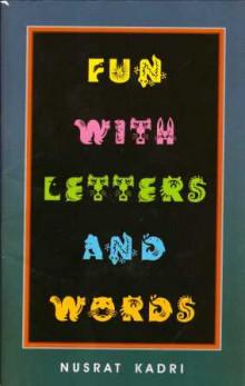 Fun With Letters And Words Gujarati Book Written By Nusrat Kadri