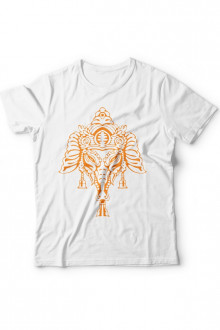 Ganpati T-shirt - Design 1 (Ganesh Cotton Tshirt)