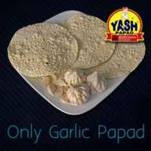 Garlic Papad  5 Kg Buy online best Gujarati Farsan