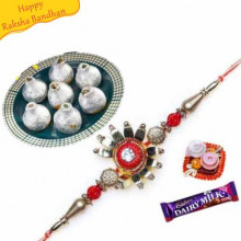 kaju Kalash With Rakhi