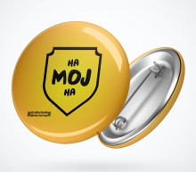 ha moj ha button badge