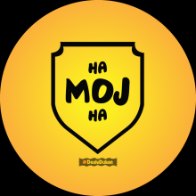 Ha Moj Ha - Gujarati Button Badge