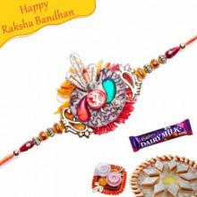 Om Beads Rakhi