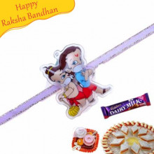 Buy Bal Hanuman and Chota Bheem Kids Rakhi Online on Rakshabandhan with India, worldwide delivery options
