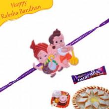 Bal Ganesha And Bal Hanuman Kids Rakhi