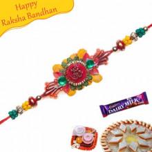 Om Beads Jardoshi Rakhi