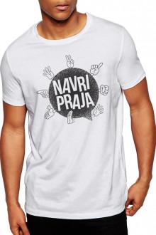 Navri Praja - Gujarati Funky Cotton Tshirt