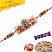 Ganesha Beads Rakhi