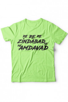 Re Re Re Amdavad Re - Cotton Tshirt
