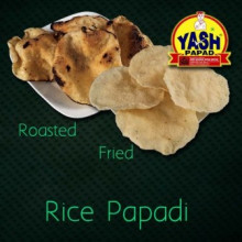 Rice Papadi  5 Kg Buy online best Gujarati Farsan