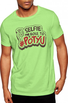 Selfie Bole To Potyu - Cotton Tshirt