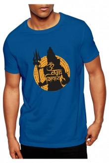 Shiv Shankar Theme- Cotton Tshirt  From Deshidukan Buy online in Gujarat, Ahmedabad, Rajkot, Surat, Vadodara