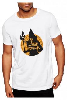 Shiv Shankar Theme Cotton Tshirt - 1