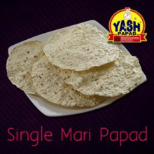 Single Mari Papad  500 Grams Buy online best Gujarati Farsan