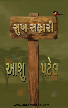Sukh Safari Gujarati Book Written By Aashu Patel