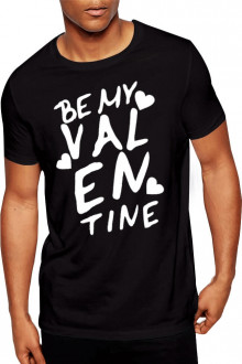 Be My Valentines - Cotton Tshirt For Valentines Day Buy Online