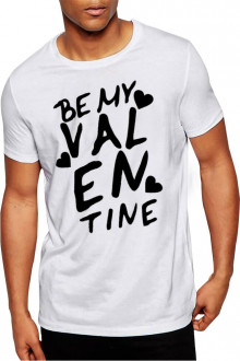 Be My Valentines - Cotton Tshirt For Valentines Day