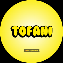 Tofani - Gujarati Button Badge