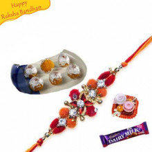 Motichur Laddu With rakhi