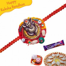 Ganesha Thread Rakhi