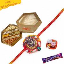 Buy Sp Kaju Mix With rakhi Online on Rakshabandhan with India, worldwide delivery options